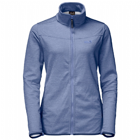 Jack Wolfskin Womens Tongari Fleece Jacket - Dusk Blue
